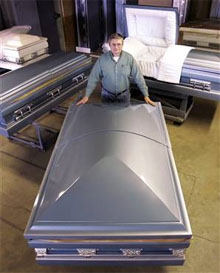 Extra Large Coffins